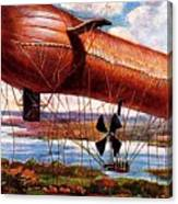 Early 1900s Military Airship Canvas Print