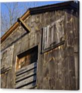 Early American Barn Canvas Print