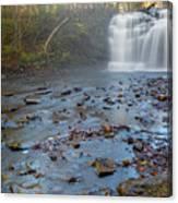 Early Autumn At Pixley Falls Canvas Print