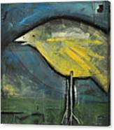 Early Bird At Sunrise Canvas Print