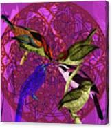 Early Bird Solar Energy Canvas Print
