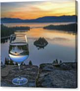 Early Drink Canvas Print
