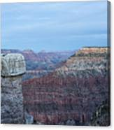 Early Evening At Grand Canyon No. 2 Canvas Print