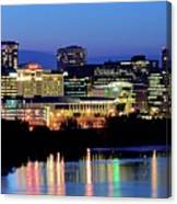 Early Evening In Hartford Canvas Print
