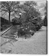 Early Evening Nyc Central Park Canvas Print
