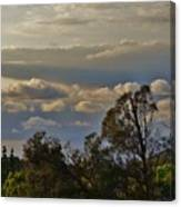 Early Evening Sunset 1 Canvas Print