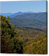 Early Fall In Virginia Canvas Print