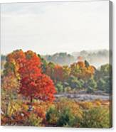 Early Fall Morning Canvas Print