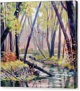 Early Fall On East Canyon Creek Canvas Print