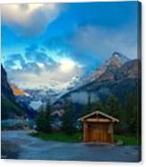 Early Moody Morning Canvas Print