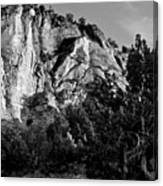 Early Morining Zion B-w Canvas Print
