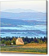 Early Morning At Sentinel Rock Canvas Print