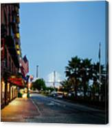 Early Morning At The Bohemian Hotel Canvas Print