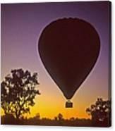 Early Morning Balloon Ride Canvas Print
