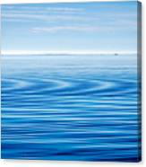 Early Morning Blues Canvas Print