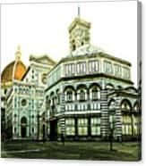 Early Morning Florentine Street Canvas Print
