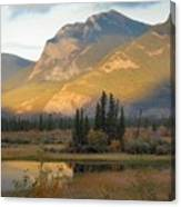 Early Morning In Jasper Canvas Print