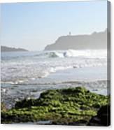 Early Morning On Secret Beach Canvas Print