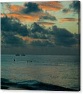 Early Morning Sea Canvas Print