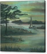 Early Morning Sunrise Canvas Print