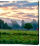 Early Morning Warmth Canvas Print