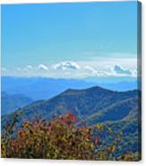 Early Mountain Autumn Canvas Print