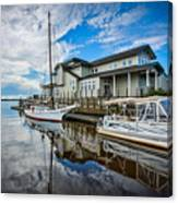 Early Sailing - Color Canvas Print