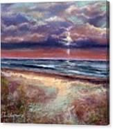 Early September Beach Canvas Print