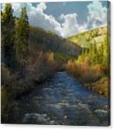 Early Spring Delores River Canvas Print