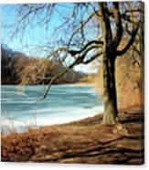 Early Spring In The Park Canvas Print