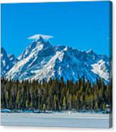 Early Spring In The Tetons Canvas Print