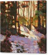 Early Spring Near Hyak Canvas Print