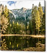 Early Spring Reflections Canvas Print