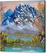 Early Sunrise Grandfather Mountain North Carolina Canvas Print