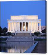 Early Washington Mornings - The Lincoln Memorial Canvas Print
