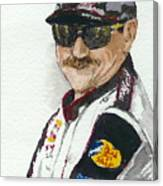 Earnhardt Attitude Canvas Print