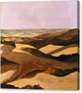 Earth And Dunes Canvas Print