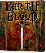 Earth Blood Cover Art Canvas Print