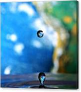 Earth Day Drips Canvas Print