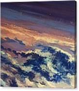 Earth Light Series Lights On  Canvas Print