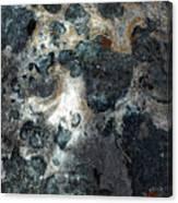Earth Memories - Stone # 8 Canvas Print