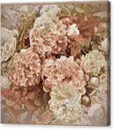 Earth Toned Roses Canvas Print