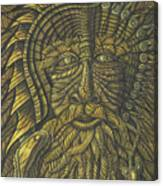 Earth Warrior Canvas Print
