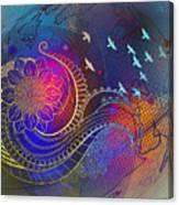 Earth, Zen, Peace 2 Canvas Print