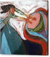 Eartha - Tile Canvas Print