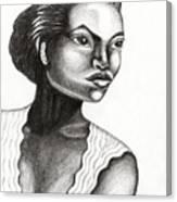 Eartha Kitt Canvas Print