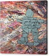 Earthwaves Inukshuk Canvas Print