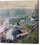 East Brookside Mine Shaft Canvas Print
