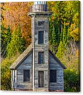East Channel Lighthouse Canvas Print