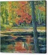 East Coast Autumn Canvas Print